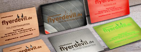 Holz Visitenkarten Teuflisch Gut Und Günstig Online Bei Flyerdevil