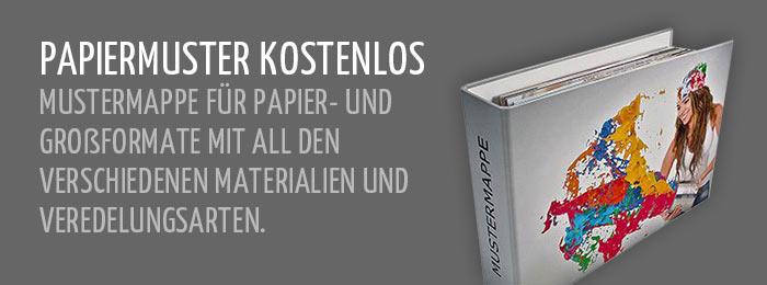 Kostenlose Papiermuster bestellen - flyerdevil